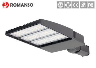 Aluminium LED Parking Lot Lights Retrofit , 240W 300W High Power Outside Parking Lot Lights